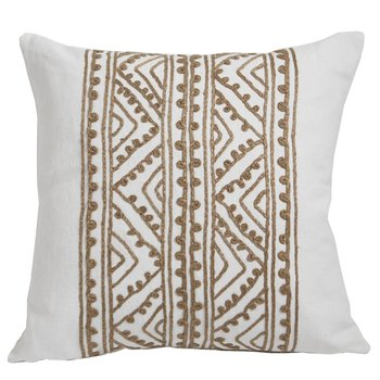 Lacefield Designs Jaipur Silk Embroidery Pillow 20""