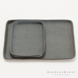 Global Views Soft Press Tray-Blau-Small