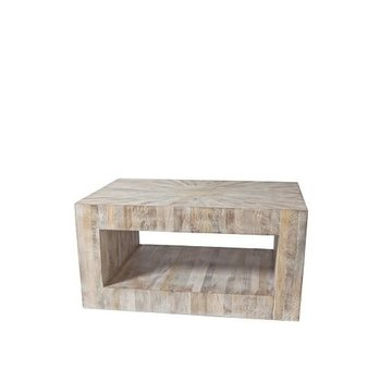 Global Views Driftwood Coffee Table