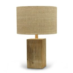 Driftwood Square Lamp