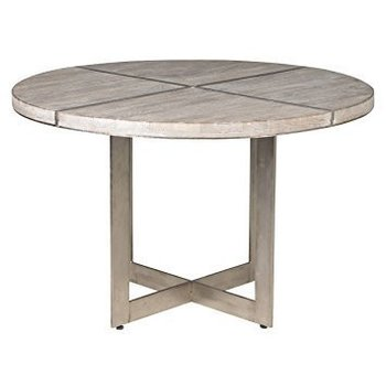 Classic Home Cerused Dining Table 48""