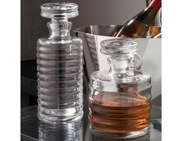 Global Views Ribbed Decanter- Tall
