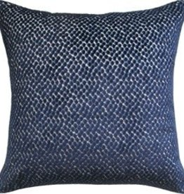 Ryan Studio Jazzy Pillow- Navy 22""