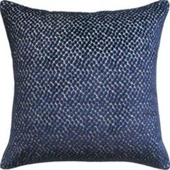 "Ryan Studio Jazzy Pillow- Navy 22"""