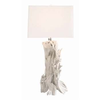 Arteriors Bodega Lamp in White Wash
