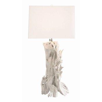 Bodega Lamp in White Wash