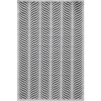 "Momeni Wave Platinum Rug 5x7-6"""