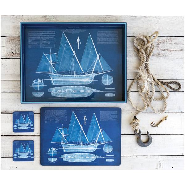 Blueprint ship placemats s4 shor home blueprint ship placemats s4 malvernweather Choice Image