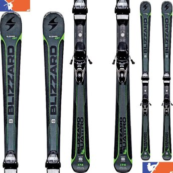 BLIZZARD QUATTRO 7.3 Skis w/ TP 10 Bindings 2016/2017