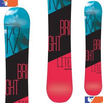 K2 BRIGHT LITE SNOWBOARD - WOMENS' 2016/2017