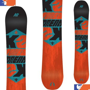 K2 TURBO DREAM SNOWBOARD 2016/2017