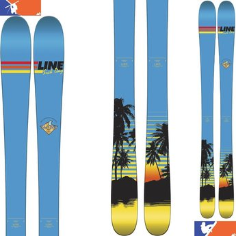 LINE SICK DAY SHORTY SKIS - JUNIOR 2016/2017