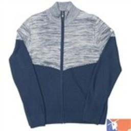 SPYDER SPYDER EQYL Full zip Sweater Men's 2015/2016 - XL - Sagan/Cirrus