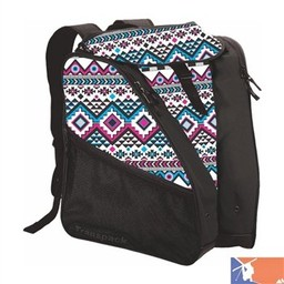 TRANSPACK TRANSPACK XTW Women's Boot Bag 2015/2016 - White/Pink/Aqua Aztec