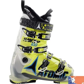 ATOMIC ATOMIC Hawk 100 Men's Boot 2015/2016 - 28.5 - Crystal/Lime