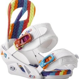 BURTON Burton Women's Scribe Snowboard Bindings 2013/2014 - Wild White - Small