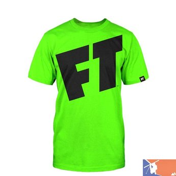 FULL TILT FULLT TILT Freestyle Tee Shirt Men's 2015/2016 - S - Lime