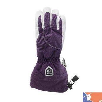 HESTRA HESTRA Heli Women's Glove 2015/2016 - 5 - Plum
