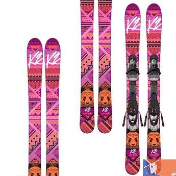 K2 K2 Luv Bug Girl's Skis with 4.5 Binding 2015/2016 - 112