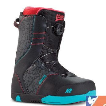 K2 K2 Vandal Jr Snowboard Boots 2015/2016 - 6.0 - Black