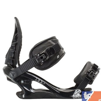 K2 K2 Charm Women's Snowboard Bindings 2015/2016 - Small - Black
