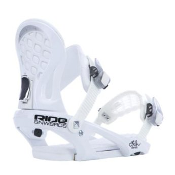 RIDE RIDE LXH Snowboard Binding 2014/2015 - White - Small