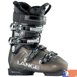 LANGE LANGE SX 70 Women's Ski Boots 2015/2016 - 25.5 - Transparent/Black