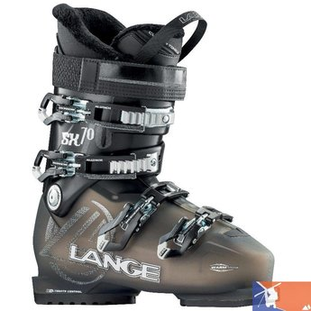 LANGE LANGE SX 70 Women's Ski Boots 2015/2016 - 25.5 - Transparent/Black