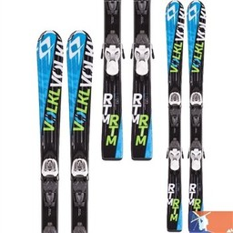 VOLKL VOLKL RTM Jr Skis with 3 Motion 4.5 Bindings 2015/2016 - 80