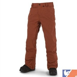 VOLCOM VOLCOM Freakin Snow Chino Pants Men's 2015/2016 - XS - Rust