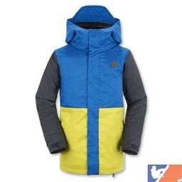 VOLCOM VOLCOM Woodlands Insulated Jr. Boy's Jacket 2015/2016 - XL - Citronelle Green