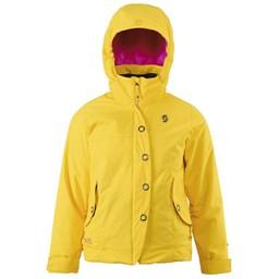 SCOTT SCOTT Essential Girls JR. Jacket 2014/2015 - Chrome Yellow - S