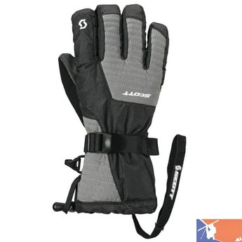 SCOTT SCOTT Tac-30 Jr Glove 2015/2016 - S - Gray/Black