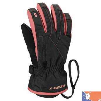 SCOTT SCOTT Tac-20 Jr Glove 2015/2016 - L - Black Pink