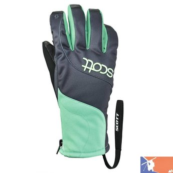 SCOTT SCOTT Snow-Tac 20 HP PL Women's Glove 2015/2016 - S - Ombre Blue/Arcadian Green