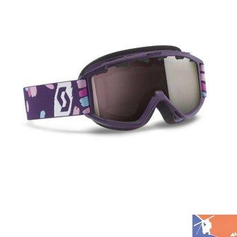 SCOTT SCOTT Jr Hook Up Ski Goggles 2015/2016 - Purple - Silver Chrome