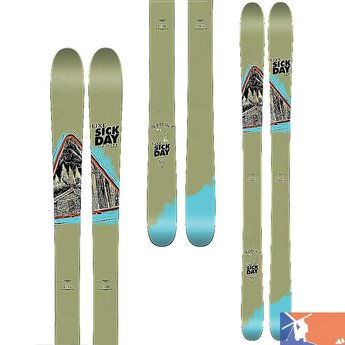LINE LINE Sick Day 95 Ski Men's 2015/2016 - 186 - Army Green