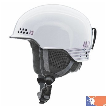 K2 K2 Ally Women's Helmet 2015/2016 - XS - White