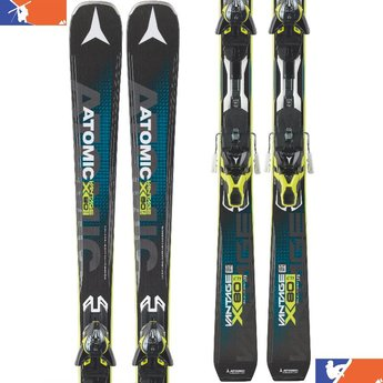ATOMIC Vantage X 80 CTI Skis w/ Warden MNC 13 DT Bindings 2016/2017