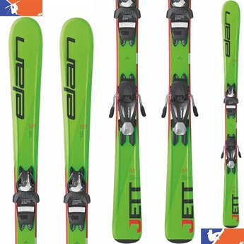 Elan JETT QS SKIS W/EL 7.5 BINDINGS - JUNIOR 2016/2017