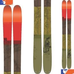 K2 POACHER SKIS 2016/2017