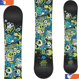 K2 MINI TURBO SNOWBOARD - JUNIOR 2016/2017