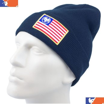 NEVER SUMMER PREMIUM USA EAGLE PATCH CUFF BEANIE 2016/2017