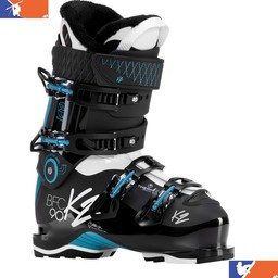 K2 B.F.C 90 WOMENS' SKI BOOT 2017/2018 + HEAT