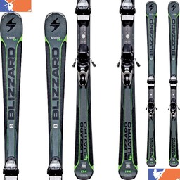 BLIZZARD QUATTRO 7.3 CA SKI 2017/2018 + TP10 BINDINGS