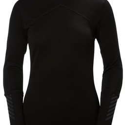 HELLY HANSEN LIFA MERINO WOMENS' CREW BASELAYER 2017/2018
