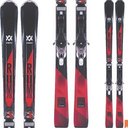 VOLKL RTM 78 SKI + 4MOTION TCX RED BINDING 2017/2018