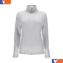 SPYDER MAJOR CABLE WOMENS' MIDLAYER 2017/2018