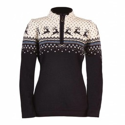 DALE OF NORWAY TUVA FEMININE WOMENS' 1/4 ZIP SWEATER 2017/2018