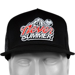 NEVER SUMMER COLD MOUNTAIN MESH ADJUSTABLE TRUCKER HAT 2017/2018